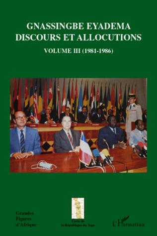Couverture Gnassingbé Eyadema (Volume III)