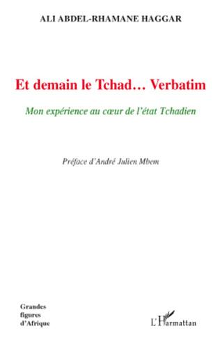 Couverture Et demain le Tchad... Verbatim