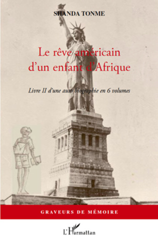 Couverture Le rêve américain d'un enfant d'Afrique