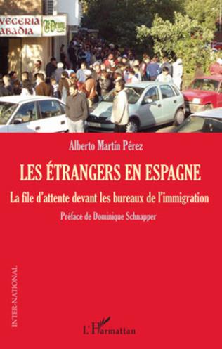 Couverture Les étrangers en Espagne