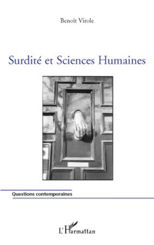 Couverture Surdité et Sciences Humaines