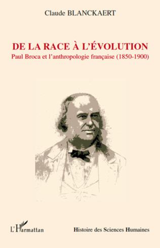 Couverture De la race à l'évolution