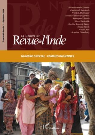 Couverture La Nouvelle Revue de l'Inde n°2