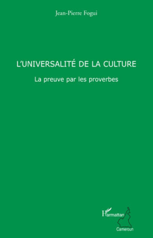 Couverture L'universalité de la culture