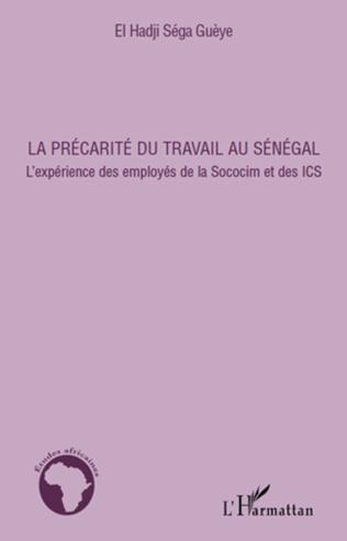 Couverture La précarité du travail au Sénégal