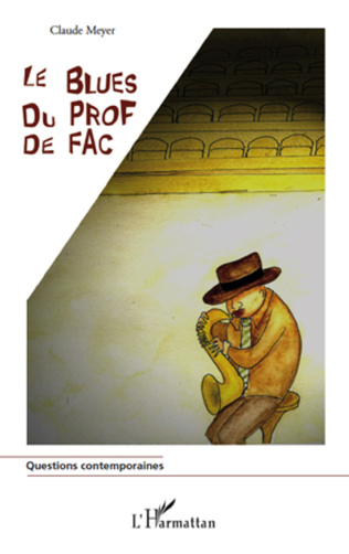 Couverture Le blues du prof de fac