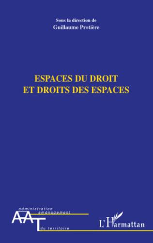 Couverture Espaces du droit et droits des espaces