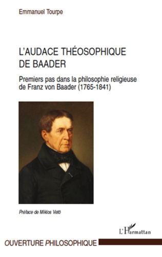 Couverture L'audace théosophique de Baader