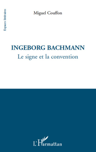 Couverture Ingeborg Bachmann