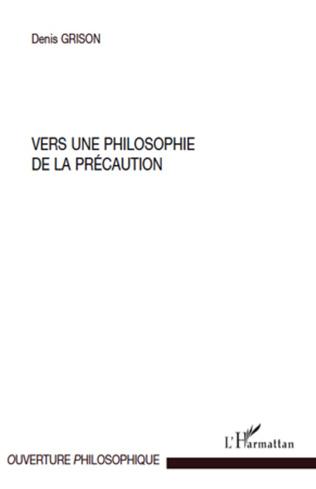 Couverture Vers une philosophie de la précaution