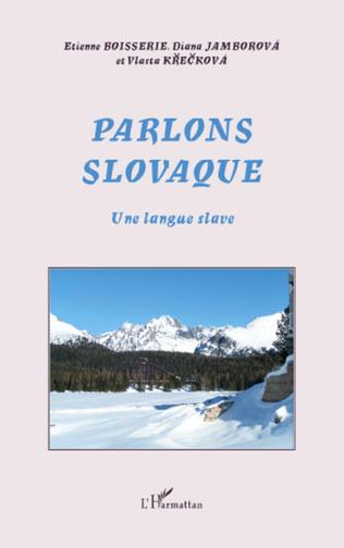 Couverture Parlons slovaque