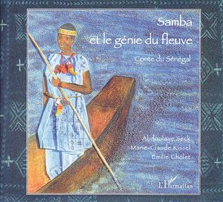 Couverture Samba et le génie du fleuve