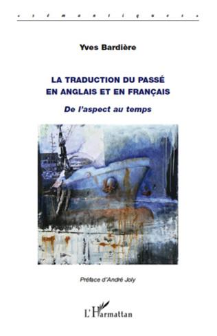 Couverture La traduction du passé en anglais et en français