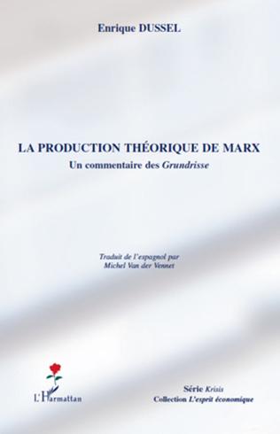 Couverture La production théorique de Marx