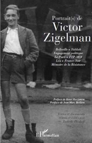 Couverture Portrait(s) de Victor Zigelman