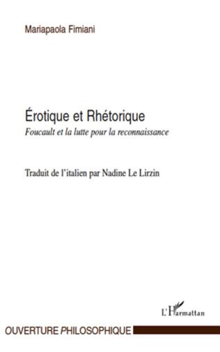 Couverture Erotique et Rhétorique