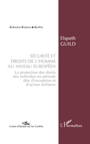 Couverture Sécurité et droits de l'homme au niveau européen