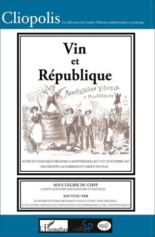 Couverture Vin et République