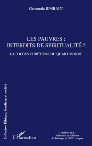Couverture Les pauvres: interdits de spiritualité?