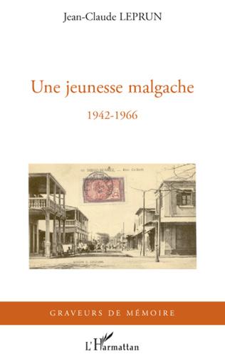 Couverture Une jeunesse malgache