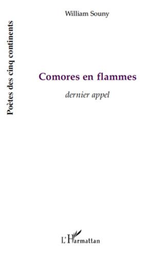 Couverture Comores en flammes