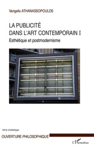 Couverture La publicité dans l'art contemporain (T I)