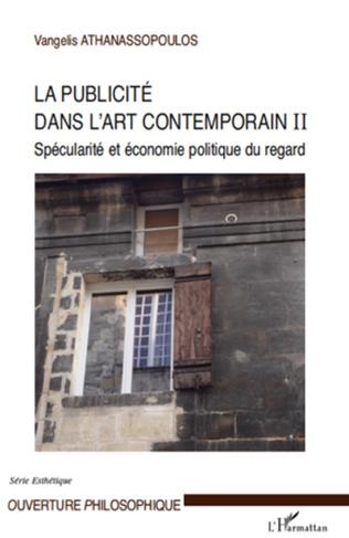 Couverture La publicité dans l'art contemporain (T II)