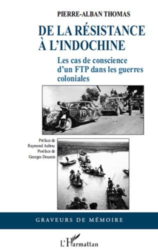 Couverture De la Résistance à l'Indochine