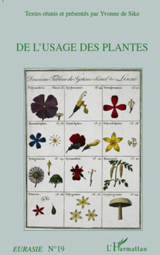 Couverture De l'usage des plantes