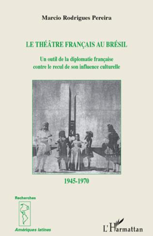 Couverture Le théâtre français au Brésil