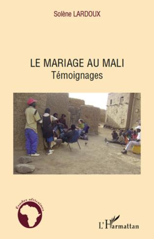 Couverture Le mariage au Mali