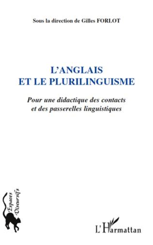 Couverture L'anglais et le plurilinguisme