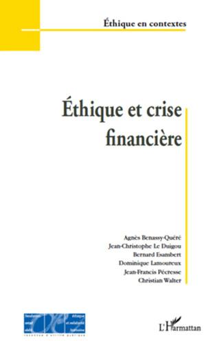 Couverture Ethique et crise financière