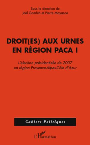 Couverture Droit(es) aux urnes en région PACA