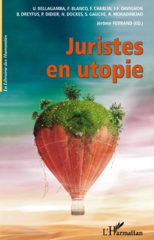Couverture Juristes en utopie