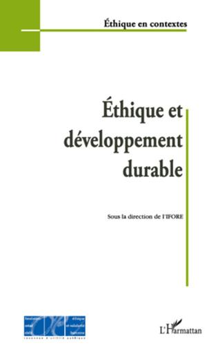 Couverture Ethique et développement durable