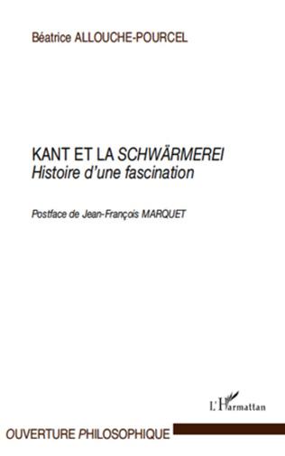 Couverture Kant et la Schwärmerei