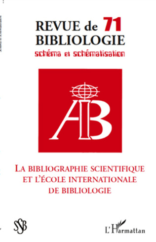 Couverture ASSOCIATION INTERNATIONALE DE BIBLIOLOGIE (AIB)