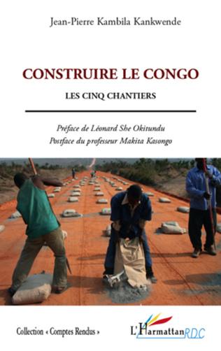 Couverture Construire le Congo