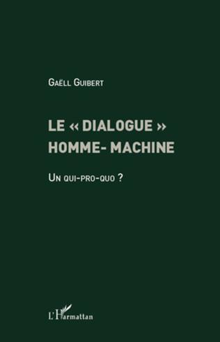 Couverture Le dialogue homme-machine