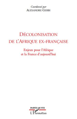 Couverture Décolonisation de l'Afrique ex-française
