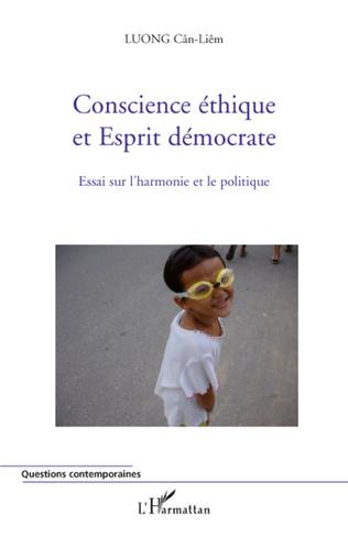 Couverture Conscience éthique et Esprit démocrate