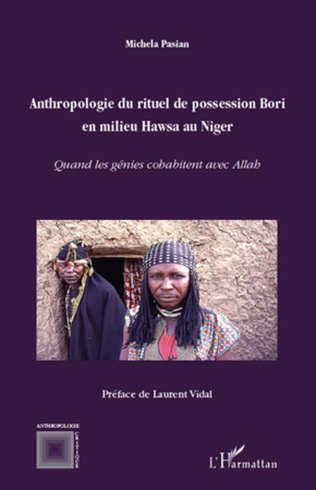 Couverture Anthropologie du rituel de possession Bori en milieu Hawsa au Niger