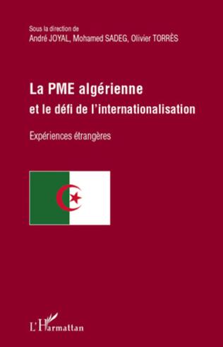 Couverture La PME algérienne et le défi de l'internationalisation