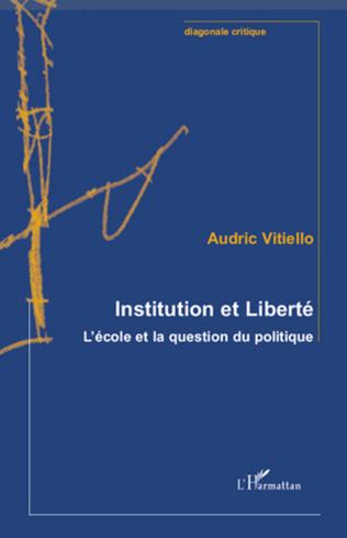 Couverture Institution et Liberté