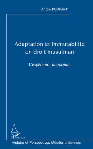 Couverture Adaptation et immutabilité en droit musulman