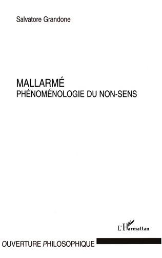 Couverture MALLARME PHENOMENOLOGIE DU NON SENS