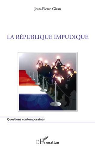 Couverture La République impudique