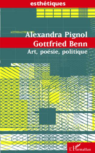 Couverture Gottfried Benn