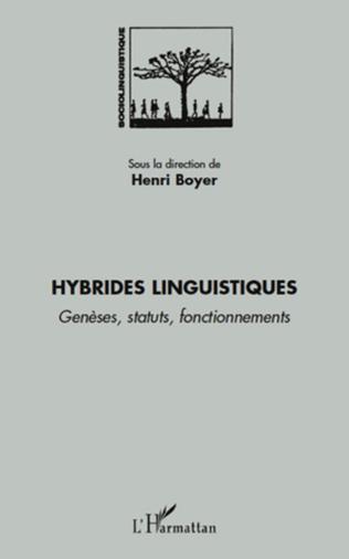 Couverture Hybrides linguistiques